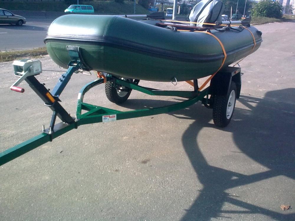купить прицеп для транспортировки лодки