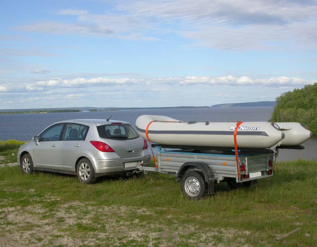 телеги для перевозки лодки пвх руками